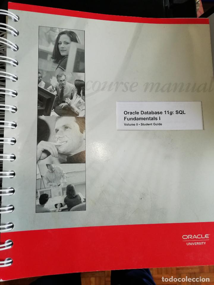 CURSO COMPLETO ADMINISTRACIÓN BASE DE DATOS ORACLE 11G (CURSO ORIGINAL) (Libros Nuevos - Ocio - Informática - Informática práctica)
