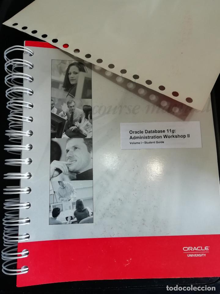 Libros: Curso Completo Administración Base de Datos ORACLE 11G (Curso Original) - Foto 3 - 262088720