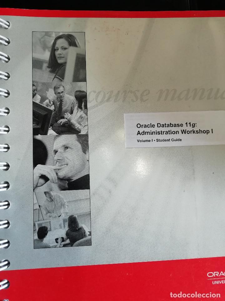 Libros: Curso Completo Administración Base de Datos ORACLE 11G (Curso Original) - Foto 5 - 262088720