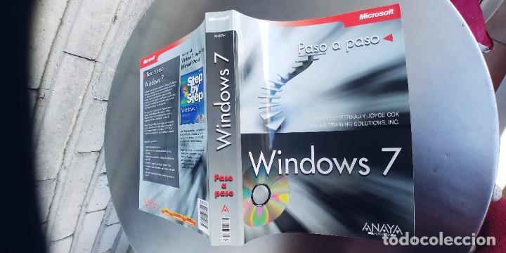LIBRO WINDOWS 7 PASO A PASO,,ANAYA,TAPA FINA,544 PAGINAS,CONTIENE UN CD (Libros Nuevos - Ocio - Informática - Informática práctica)