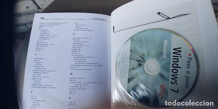 Libros: libro windows 7 paso a paso,,anaya,tapa fina,544 paginas,contiene un cd - Foto 2 - 262460740