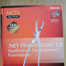 Libros: MICROSOFT .NET FRAMEWORK 2.0 APPLICATION DEVELOPMENT FOUNDATION. TRAINING KIT. Lote 266310598