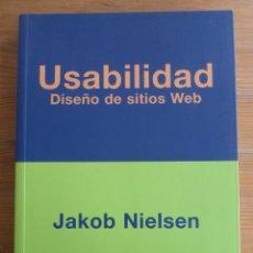 Libros: USABILIDAD.DISEÑO DE SITIOS WEB. JAKOB NIELSEN. PRENTICE HALL. 2002 412 PAG. Lote 48561825