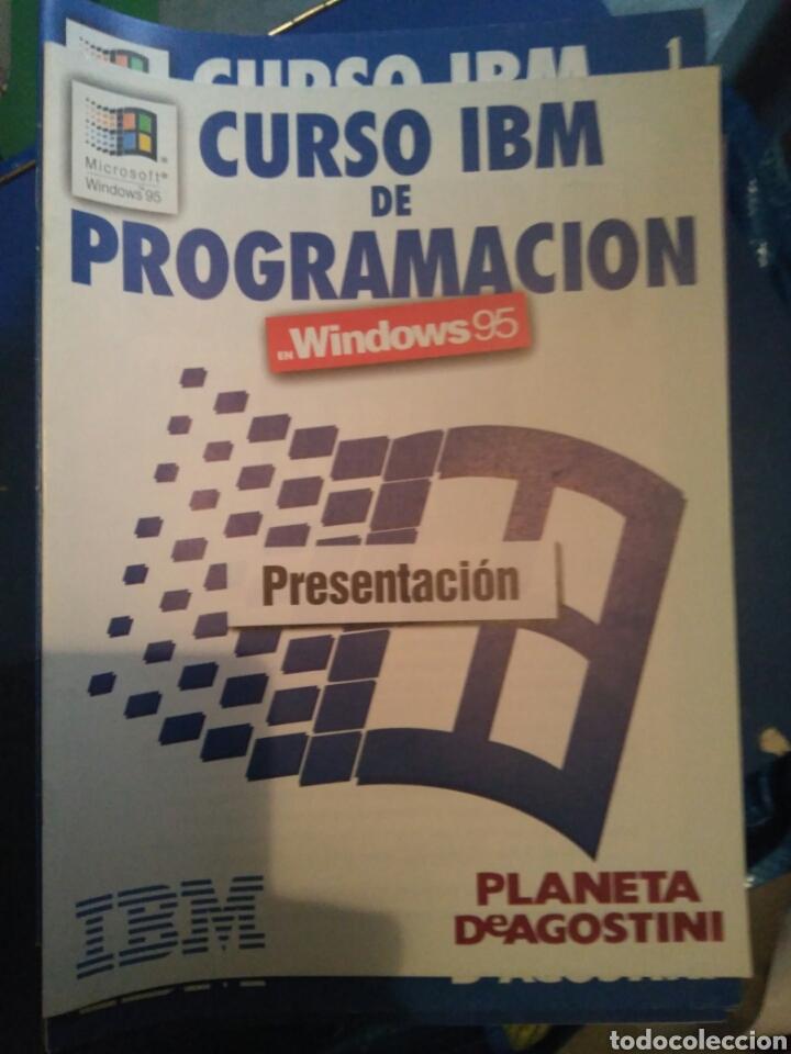 CURSO IBM DE PROGRAMACIÓN WINDOWS 95 DE PLANETA AGOSTINI (Libros Nuevos - Ocio - Informática - Programación)