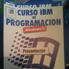 Libros: CURSO IBM DE PROGRAMACIÓN WINDOWS 95 DE PLANETA AGOSTINI. Lote 83495910
