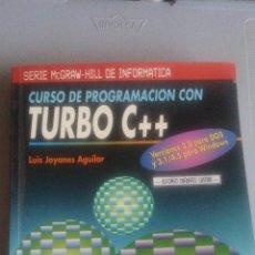 Libros: CURSO DE PROGRAMACION CON TURBO C++ - LUIS JOYANES AGUILAR. Lote 106905175