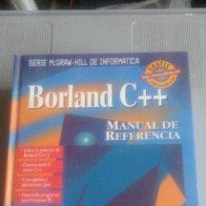 Libros: BORLAND C++ - MANUAL DE REFERENCIA. Lote 106905987