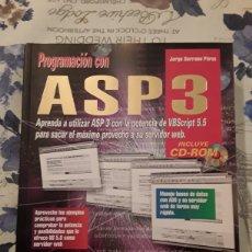 Libros: ASP 3. Lote 129527192