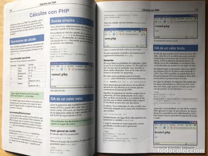 Libros: PROGRAMACIÓN PHP 5 SITIOS WEB DINÁMICOS - PC CUADERNOS TÉCNICOS - Foto 4 - 202420675