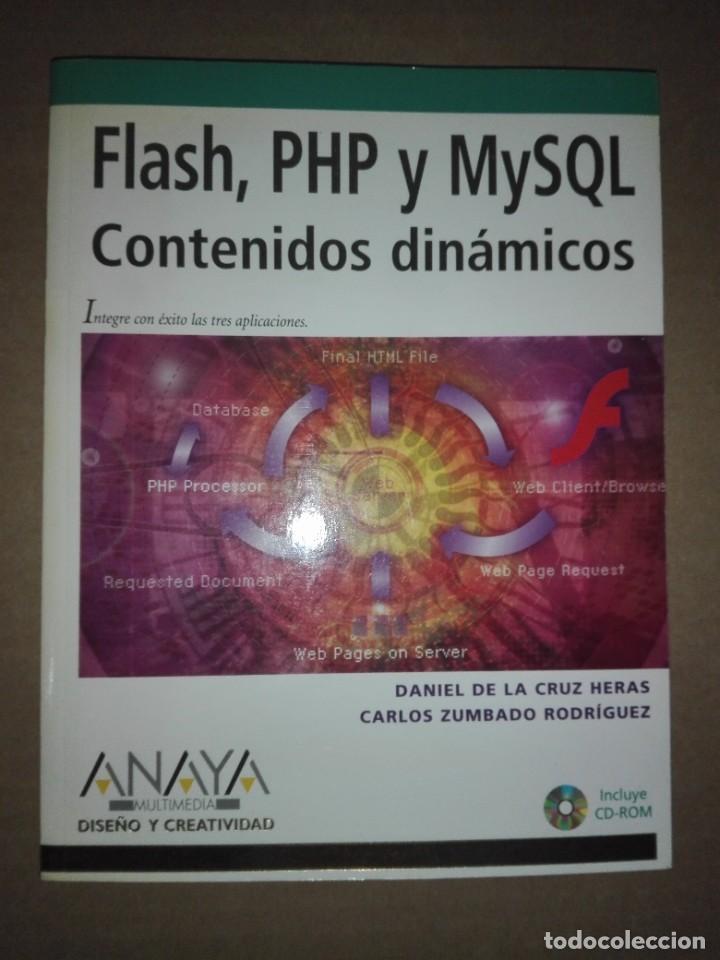 LIBRO - PROGRAMACIÓN FLASH PHP + CDROM (Libros Nuevos - Ocio - Informática - Programación)
