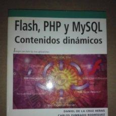 Libros: LIBRO - PROGRAMACIÓN FLASH PHP + CDROM. Lote 219359867