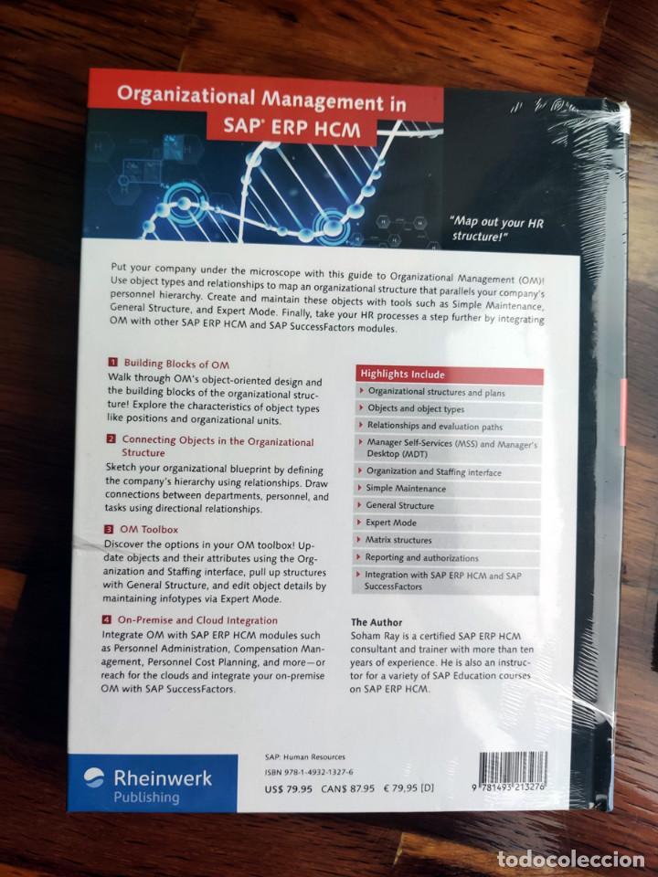 Libros: Libros de informática SAP - Curso ERP - SIN ABRIR - Foto 3 - 223548522