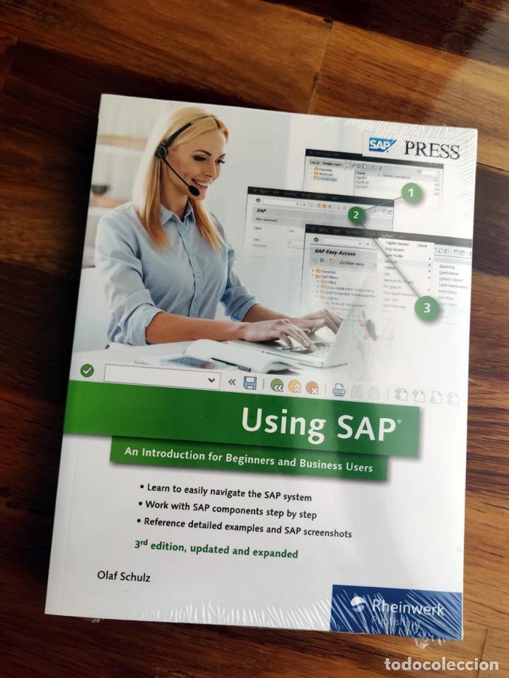 Libros: Libros de informática SAP - Curso ERP - SIN ABRIR - Foto 6 - 223548522