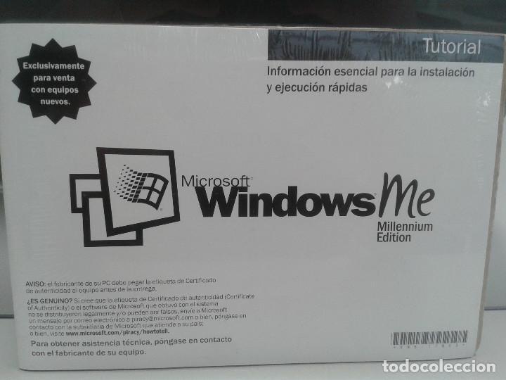 SOFTWARE WINDOWS MILLENIUM EDITION NUEVO (Libros Nuevos - Ocio - Informática - Programación)