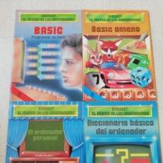 Libros: LOTE 4 LIBROS COLECCIÓN. EVEREST EL MUNDO DE LOS ORDENADORES. Lote 265509874