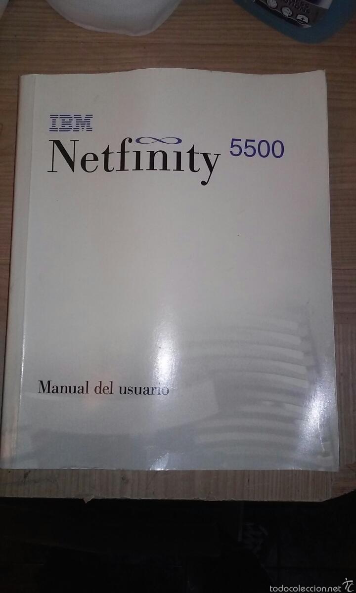MANUAL NETFINITY 5500.IBM VINTAGE (Libros Nuevos - Ocio - Informática - Sistemas Operativas)