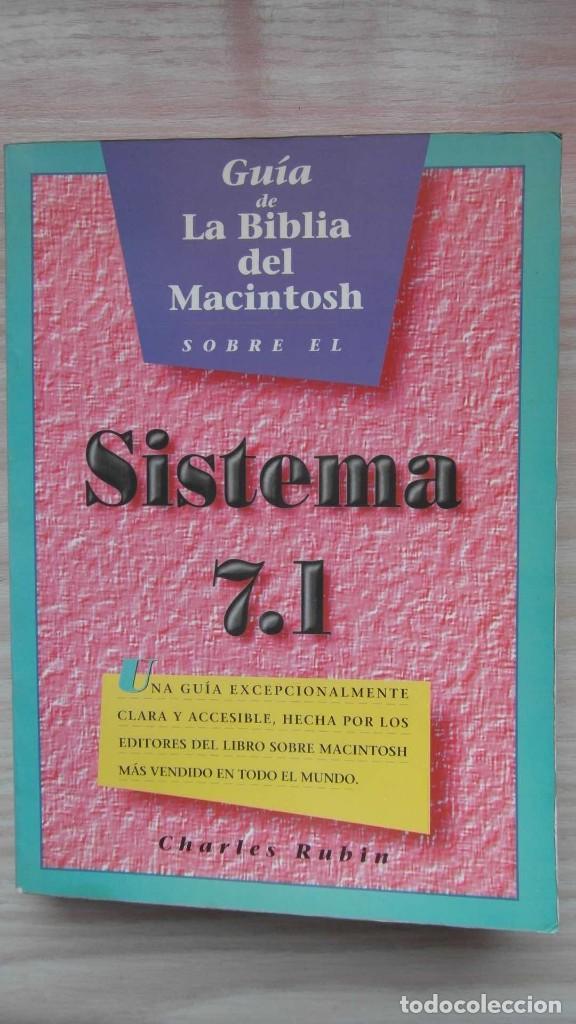 APPLE COMPUTER. GUIA DE LA BIBLIA DEL MACINTOSH SOBRE EL SISTEMA 7.1. CHARLES RUBIN (Libros Nuevos - Ocio - Informática - Sistemas Operativas)