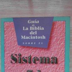 Libros: APPLE COMPUTER. GUIA DE LA BIBLIA DEL MACINTOSH SOBRE EL SISTEMA 7.1. CHARLES RUBIN. Lote 85664440