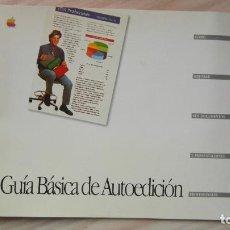 Livres: APPLE COMPUTER. GUIA BASICA DE AUTOEDICION. Lote 85664924