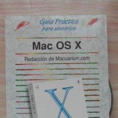 Libros: APPLE COMPUTER. LIBRO GUIA PRACTICA PARA USUARIOS MAC OS X PRIMERA VERSION DEL SISTEMA. ANAYA. Lote 85741256