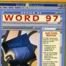 Libros: WORD 97. Lote 100618935