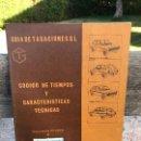 Libros: FORD, CATALOGO PIEZAS. Lote 103554355