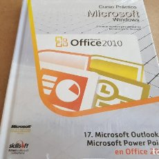 Libros: CURSO PRÁCTICO MICROSOFT-WINDOWS / OUTLOOK Y POWER POINT EN OFFICE 2010 / PRECINTADO.. Lote 153796806