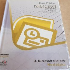 Libros: CURSO PRÁCTICO MICROSOFT-WINDOWS / OUTLOOK NIVEL BÁSICO / PRECINTADO.. Lote 153796986