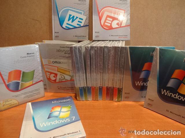 CURSO PRÁCTICO DE MICROSOFT. WINDOWS XP / VISTA Y WINDOWS 7. COMPLETO Y PRECINTADO / 20 TOMOS. (Libros Nuevos - Ocio - Informática - Sistemas Operativas)