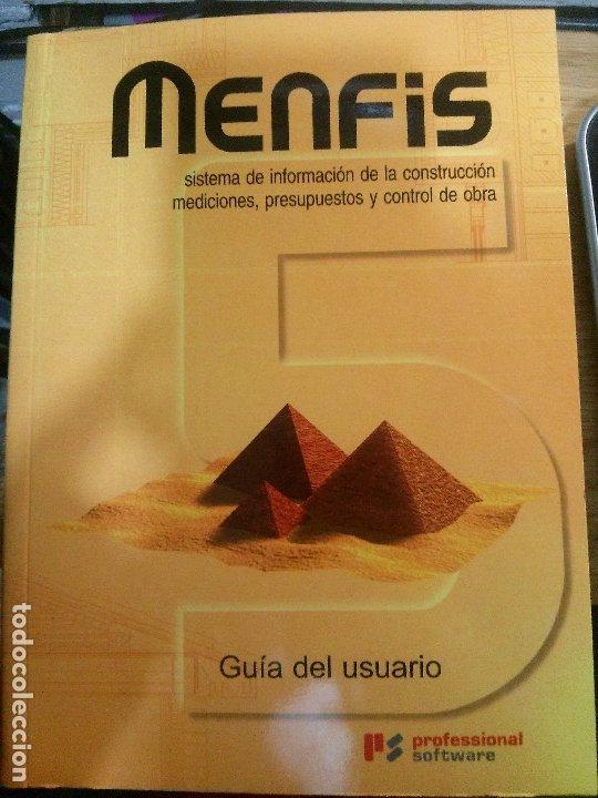 MENFIS, GUÍA DEL USUARIO, PROFESSIONAL SOFTWARE. (Libros Nuevos - Ocio - Informática - Sistemas Operativas)