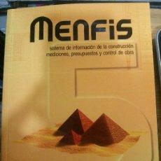 Libros: MENFIS, GUÍA DEL USUARIO, PROFESSIONAL SOFTWARE.. Lote 178139692