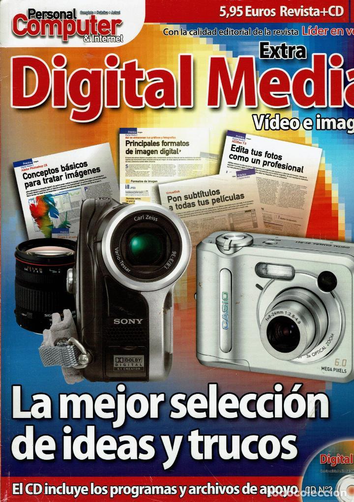 EXTRA DIGITAL MEDIA VIDEO E IMAGEN CON CD PROGAMAS Y ARCHIVOS (Libros Nuevos - Ocio - Informática - Sistemas Operativas)
