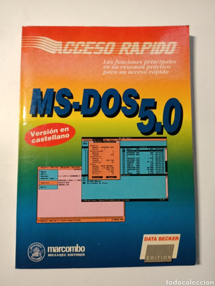 LIBRO MS-DOS 5.0 ESPECIAL OLIVETTI (Libros Nuevos - Ocio - Informática - Sistemas Operativas)