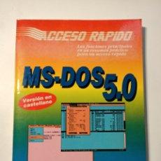 Livres: LIBRO MS-DOS 5.0 ESPECIAL OLIVETTI. Lote 204075465