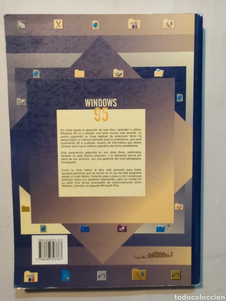 Libros: Windows 95. Curso práctico para principiantes. Col. enseñanzas profesionales. Rosario Peña Pérez - Foto 2 - 204095730