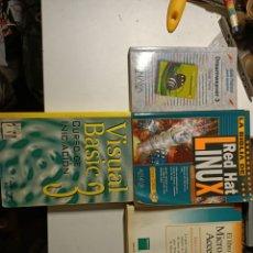 Libros: LOTE 4 LIBROS DE INFORMATICA ANTIGUA. Lote 207886488