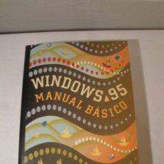 Libros: WINDOWS 95. MANUAL BÁSICO. AUTOR: JAIME RODRÍGUEZ. AÑO 1996. NUEVO.. Lote 232691190