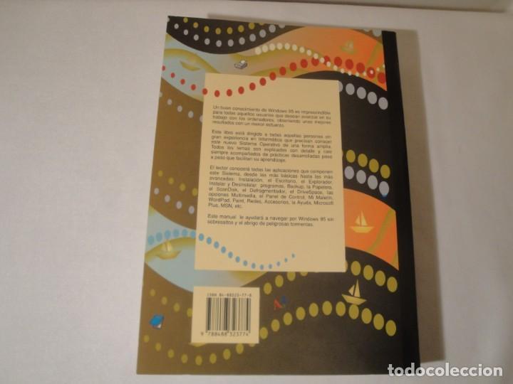 Libros: WINDOWS 95. Manual Básico. Autor: Jaime Rodríguez. Año 1996. Nuevo. - Foto 8 - 232691190