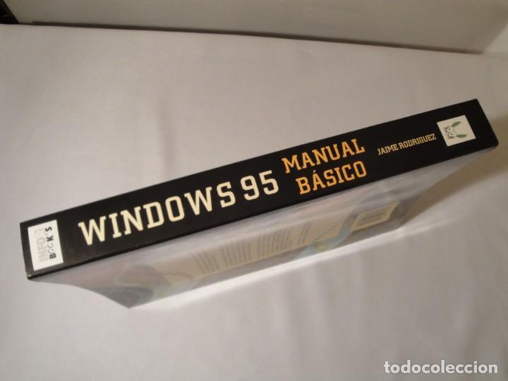 Libros: WINDOWS 95. Manual Básico. Autor: Jaime Rodríguez. Año 1996. Nuevo. - Foto 9 - 232691190