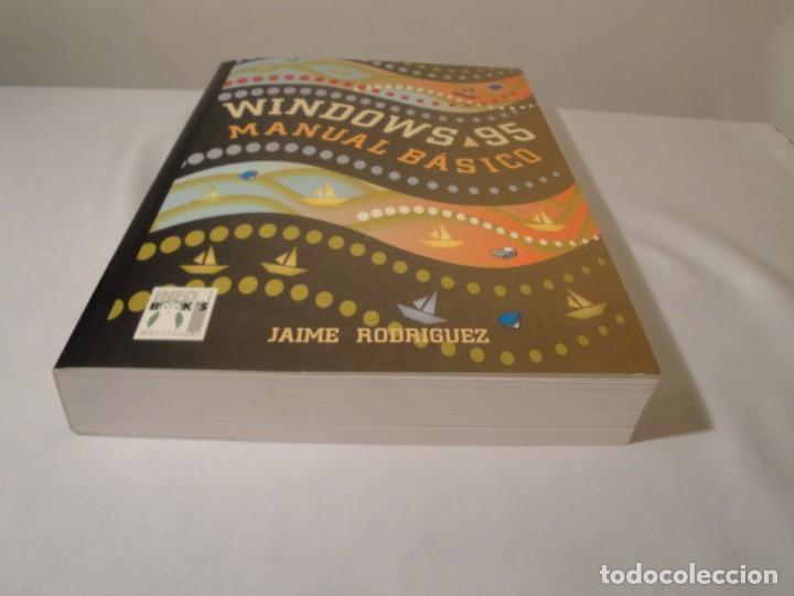 Libros: WINDOWS 95. Manual Básico. Autor: Jaime Rodríguez. Año 1996. Nuevo. - Foto 10 - 232691190