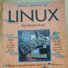 Libros: MANUAL AVANZADO DE LINUX. RAÚL MONTERO RIVERO. Lote 266305603