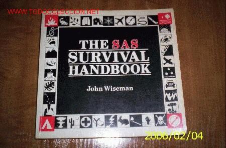 QUEX LIROS - LIBRO THE SAS SURVIVAL HANDBOOK (Libros Nuevos - Idiomas - Inglés)