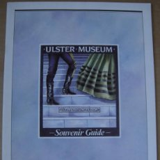 Libros: ULSTER MUSEUM. TO MUSEUM FLOOR. SOUVENIR GUIDE. Lote 14219573