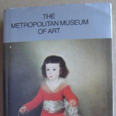 Libros: GUIDE THE METROPOLITAN MUSEUM OF ART. NEW YORY. . Lote 14063993