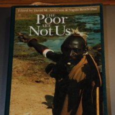 Libros: THE POOR ARE NOT US.POVERTY AND PASTORALISM. EASTERN AFRICAN STUDIES.FOUNTAIN.MKUKI NYOTA.... Lote 26423184