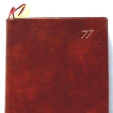 Libros: AGENDA AÑO 1977 DE LA EMPRESA JAPONESA TEIJIN LIMITED, SIN USAR, SOBRECUBIERTA PLASTICO, MUY RARA. Lote 16294238