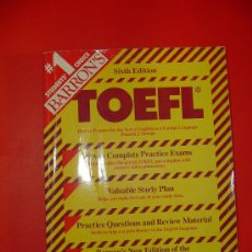 Libros: TOEFL HOW TO PREPARE FOR THE TEST OF ENGLISH AS A FOREIGN LANGUAGE.- PAMELA J. SHARPE. Lote 27299695