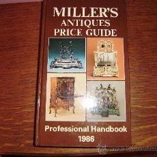 Libros: MILLER´S.ANTIQUES PRICE GUIDE.1.986. Lote 26926101