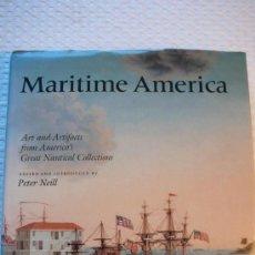 Libros: MARITIME AMERICA (MARINA A VELA). Lote 21727641
