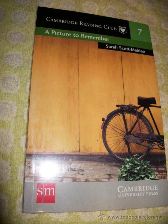 A PICTURE TO REBEMBER + AUDIOLIBRO – SARAH SCOTT MALDEN – LEVEL 2 - SM CAMBRIDGE UNIVERSITY PRESS (Libros Nuevos - Idiomas - Inglés)